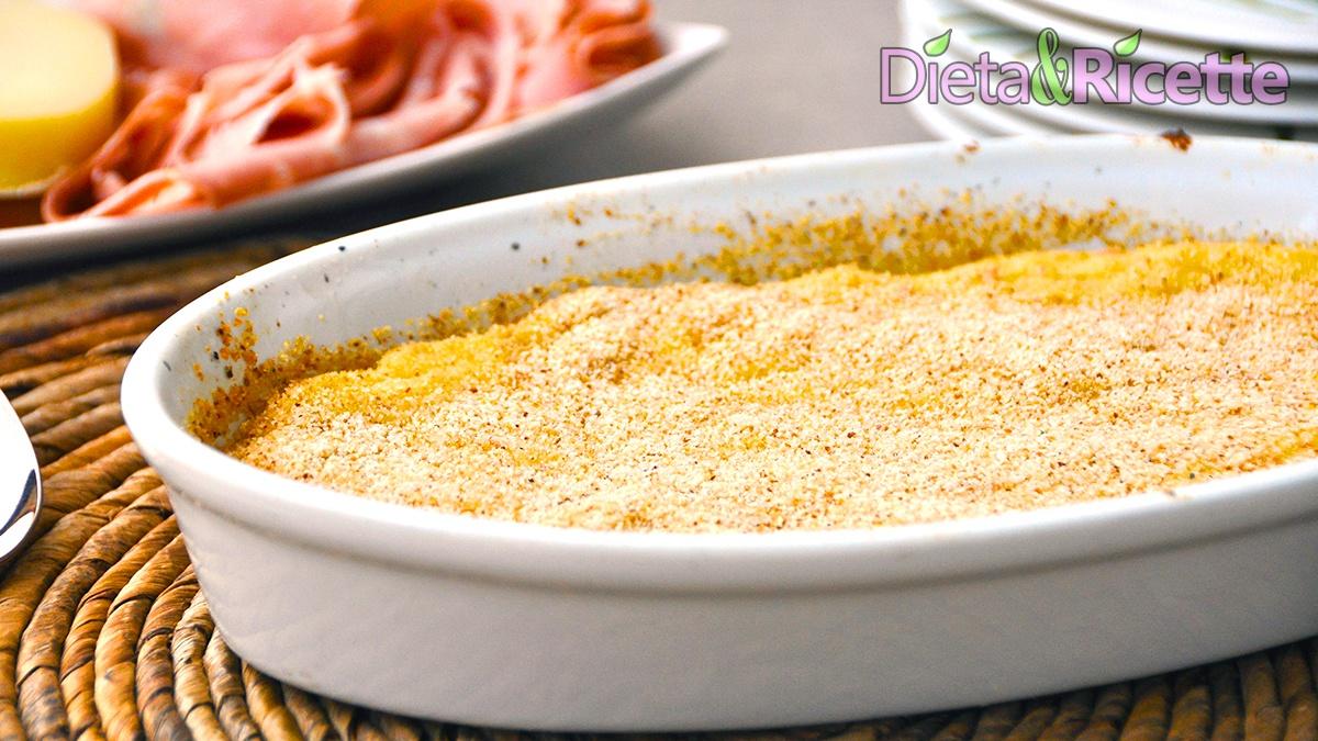 ricetta sformato di patate senza lattosio