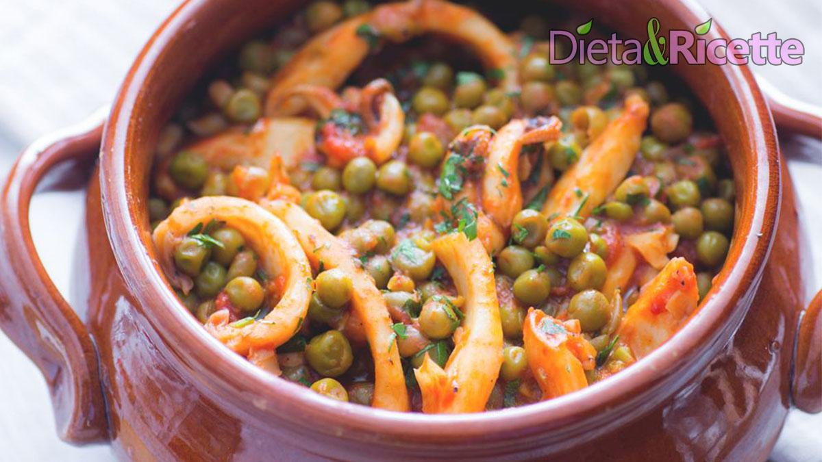 dieta esofagite da reflusso - seppie e piselli