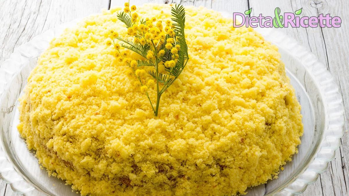 torta mimosa ricetta classica 8 marzo festa delle donne