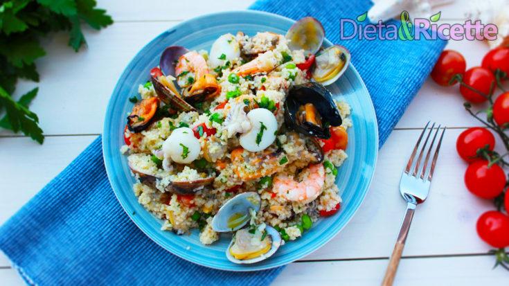 cous cous di pesce ai frutti di mare
