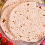 Piadina Ricetta Veloce per Piadine senza lievito in 10 minuti