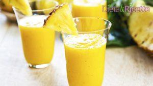 ricetta detox centrifugato ananas mela zenzero