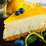 Cheesecake senza cottura al limone, anche vegan e gluten free