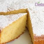 Torta al limone alta e soffice - Ricetta semplice e profumata