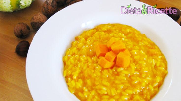 risotto alla zucca ricetta