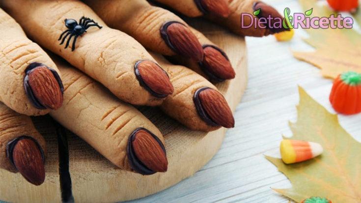 biscotti dita di strega per halloween la ricetta dolce