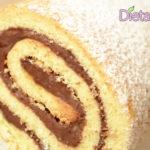 Rotolo alla Nutella soffice Ricetta facile e veloce