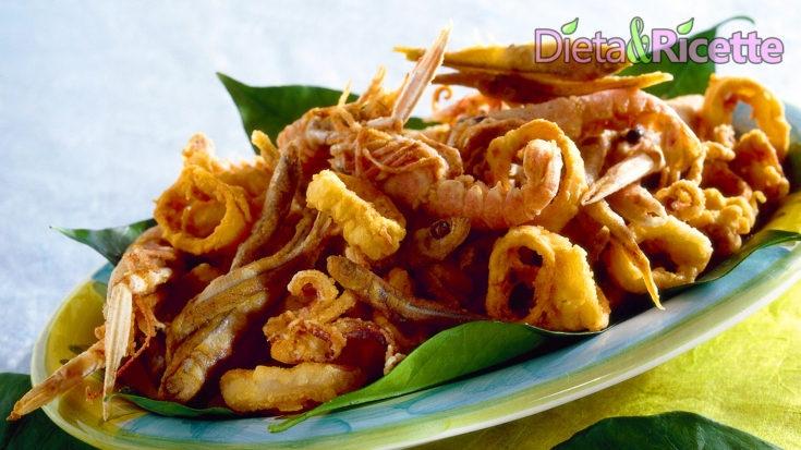 frittura di pesce perfetta fritto misto croccante