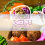 Dieta vegetariana equilibrata - Esempio con menu settimanale