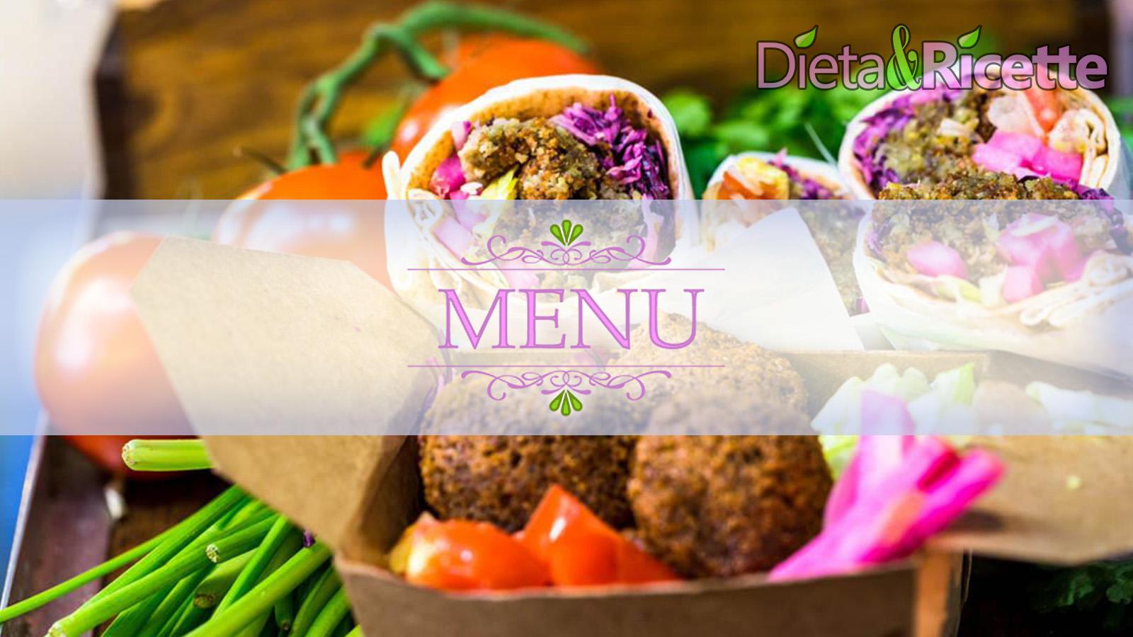 Ricetta Vegetariana Dieta.Dieta Vegetariana Equilibrata Esempio Con Menu Settimanale