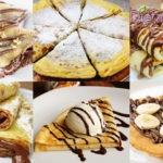 Crepes alla Nutella ricetta per 4 persone, come si fanno le crepes dolci