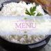 menu esempio dieta del riso